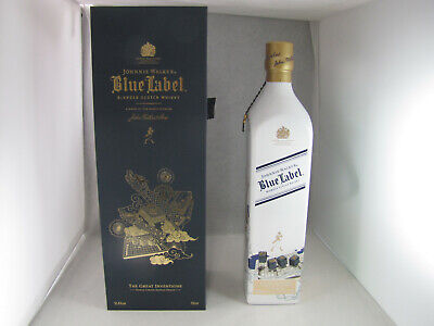 Johnnie Walker Whisky Blue Label The Great Inventions Edition 750ml NEW ()