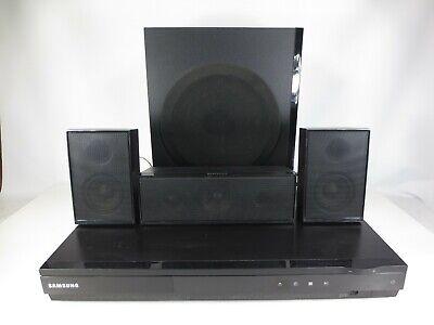 Samsung 5.1 DVD Home Theater Surround Sound System w/ Speakers HT-D550 No Remote