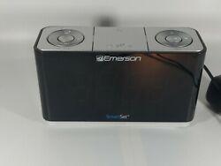 Emerson CKS1507 Smart Set Radio Alarm Clock - Good condition