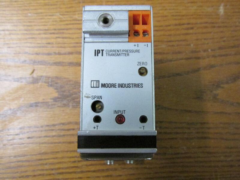 Moore IPT/4-20MA/3-12PSIG/20PSI/-FA3 Current/Pressure Transmitter