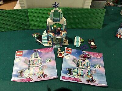 Lego Disney Frozen 41062 Elsa's Sparkling Ice Castle Minifigs & Inst complete
