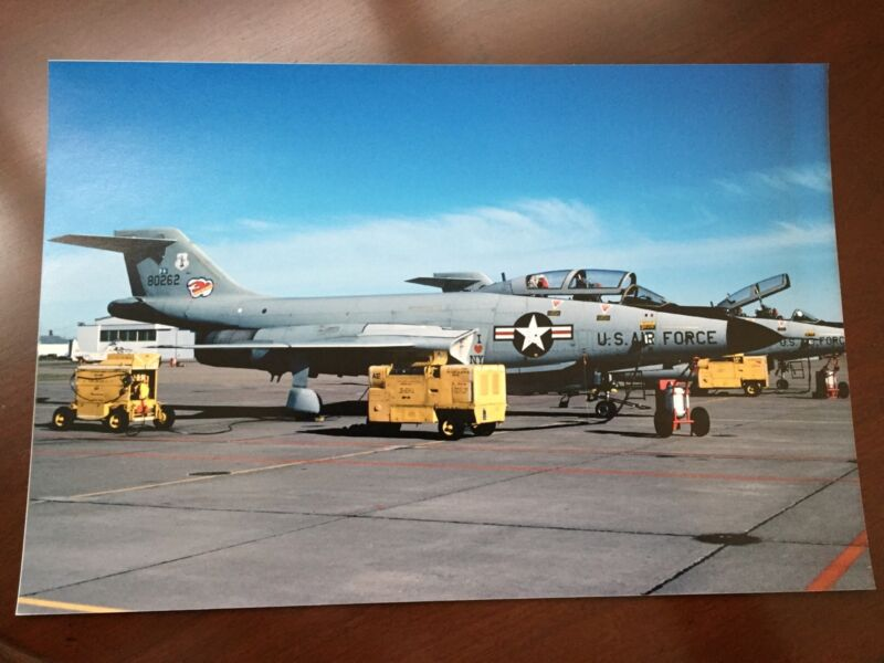 F-101 Voodoo PHOTO  (8 By 12) 136th FIS NEW YORK ANG NIAGARA FALLS AFB. 🇺🇸
