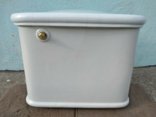 Antique Vintage 1920 Standard Kokomo 500 SF Toilet Wall Tank Pacific Art Deco