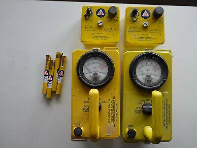 Cdv-700 Geiger Counter Civil Defense Radiation Detector Set By Victoreen