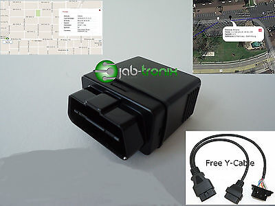 OBD II GPS Tracker Real Time GPS tracking System, Vehicle Tracker, Fast shipper