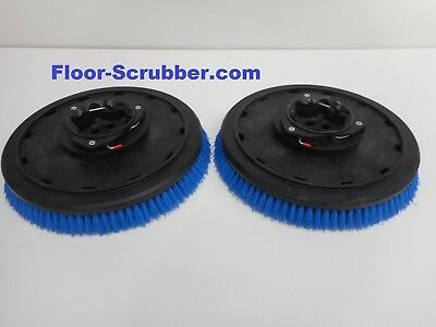 Set 2 Tennant 399244 T5 Nobles Ss5 16 Floor Scrubber Poly Brushes .030