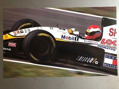 MCLAREN HONDA MP4-4 FORMULA 1 F1 RACE CAR CUTAWAY POSTER PRINT 24x36 9 MIL