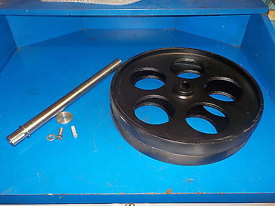 Bandsaw Wheels Bandwheels 16 With Shaft New Build Your Own Sawmill Bandmill