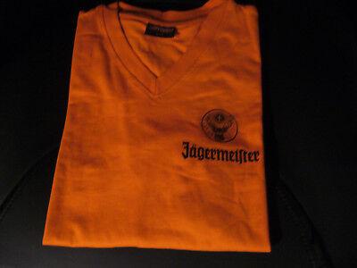 """JÄGERMEISTER T-SHIRT - ORANGE - GRÖßE """"M 38/40"""" - TOP!"""
