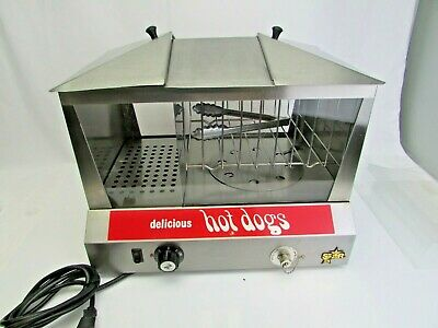 Star 35ssc Classic Hot Dog Steamer Bun Warmer W Variable Temperature Control