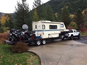 """Outdoor hunting Fishing 5th Wheel Trailer """"Reduced"""""""