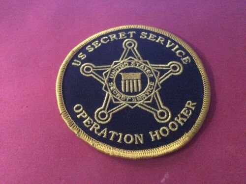 Unusual US Secret Service Police patch USSS 4""