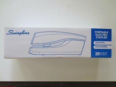 Swingline Portable Electric Stapler 20-sheet Capacity Black Swi48200