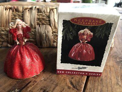 Hallmark Keepsake Ornament, Holiday Barbie 1993