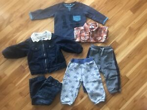 Toddler clothes (boy), 18 months - 2T