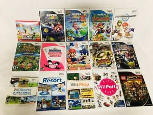 ~ Wii & Wii U Games for Sale ~