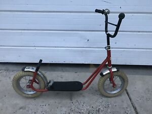 """Original Vintage (early 80s) Scooter (12"""" Wheels)"""