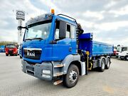 MAN TGS 26.400 Kipper+ATLAS 126/Funk/5+6 Bed./*6x6*