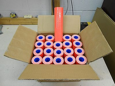 1 Case Of Fl-red Labels For Motex 5500  200 Rolls
