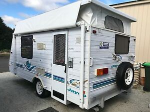 2003 Jayco Freedom Poptop - Isl Dbl - Air Cond - Rollout Awning Warragul Baw Baw Area Preview