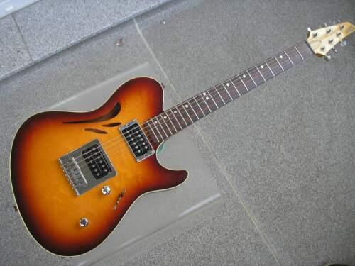 Starfield (Ibanez) Cabriolet SJ 1992 Sunburst MIJ Semi-Acoustic Electric Guitar