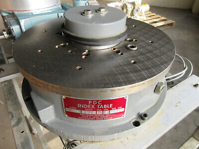 Pdc 3a 12 Inch Rotary Table Indexer Drive With Motor - Precision Detroit Co.