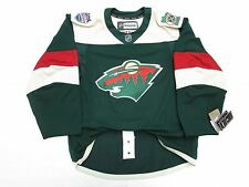 MINNESOTA WILD AUTHENTIC 2016 STADIUM SERIES REEBOK EDGE 2.0 7287 HOCKEY JERSEY