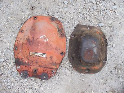 Allis Chalmers Wd Wd45 Wc Tractor Ac Rearend Cover Plate Plates