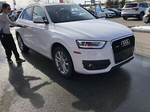 WANTED Audi Q3 or Q5 with low km and good shape!   306-421-2097