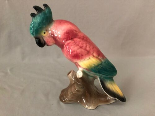 ROYAL COPLAY COCKATOO FIGURINE EX