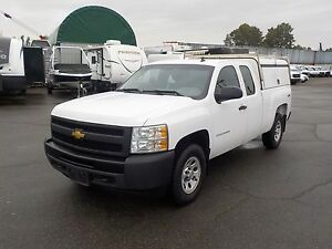2013 Chevrolet Silverado 1500 Work Truck Extended Cab 4WD w/ Can