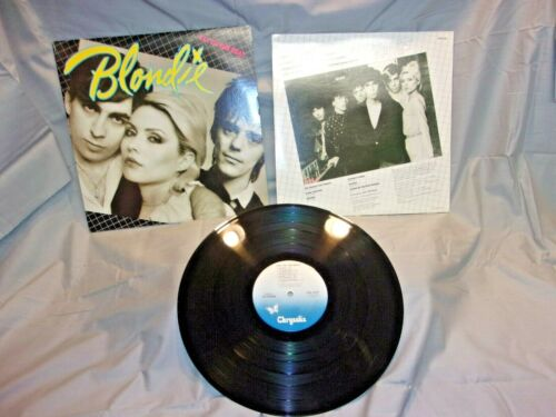 1979 Blondie, Eat To The Beat, Vinyl Record Album Original