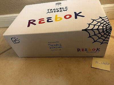 50b33404e95 Reebok Classic Trouble Andrew Workout Plus 3 AM Size 9 Never Tried On Free  Ship