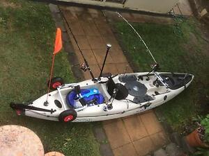 Malibu stealth 12 fishing kayak Molendinar Gold Coast City Preview