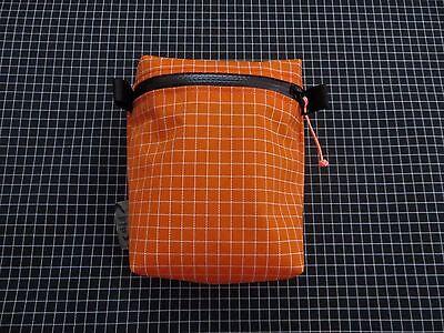 Tread Lite Gear Orange Dyneema X Grid Rucksack Backpack Strap Pocket 16.6g