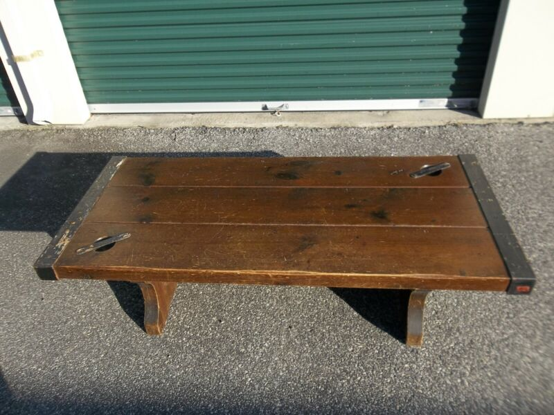 Victory- Liberty Ship Hatch Cover Coffee Table