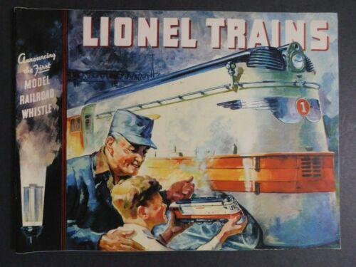 Scarce Original 1935 Lionel Electric Trains Catalog 43 pg. VGC Gary Nelson Coll.