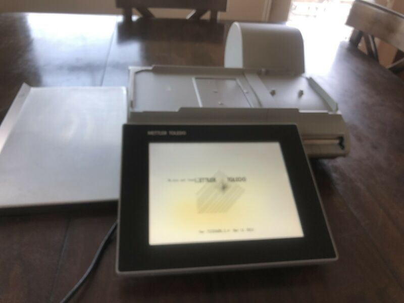 """Mettler Toledo PACT-M-DD Deli Scale 10.1"""" Touch Screen With Printer."""
