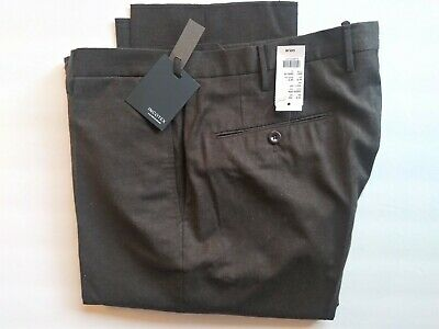 InCOTEX Slowear 34 NWT $425 brown flannel