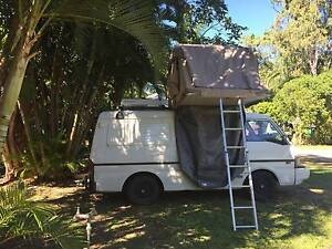 FORD ECONOVAN MAXI with rooftent and new engine Brisbane City Brisbane North West Preview