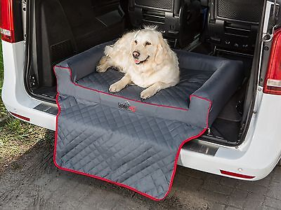 Dog Bed Car Boot Trunk Bumper Protect Cover 110x100cm Vehicle Transport Travel ()