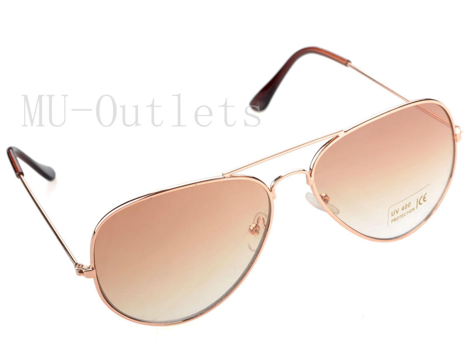 New Classic Aviator Fashion Sunglasses For Men's Women's Ret