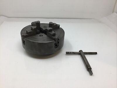 Atlas Craftsman Southbend 9 10 12 Metal Lathe 6 4 Jaw Chuck 1 12 X 8 Tpi