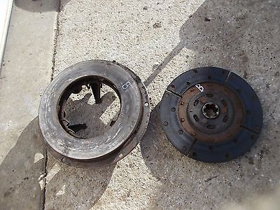 Farmall B Bn A Tractor Ih Working Engine Motor Clutch Pressure Plate Assembly