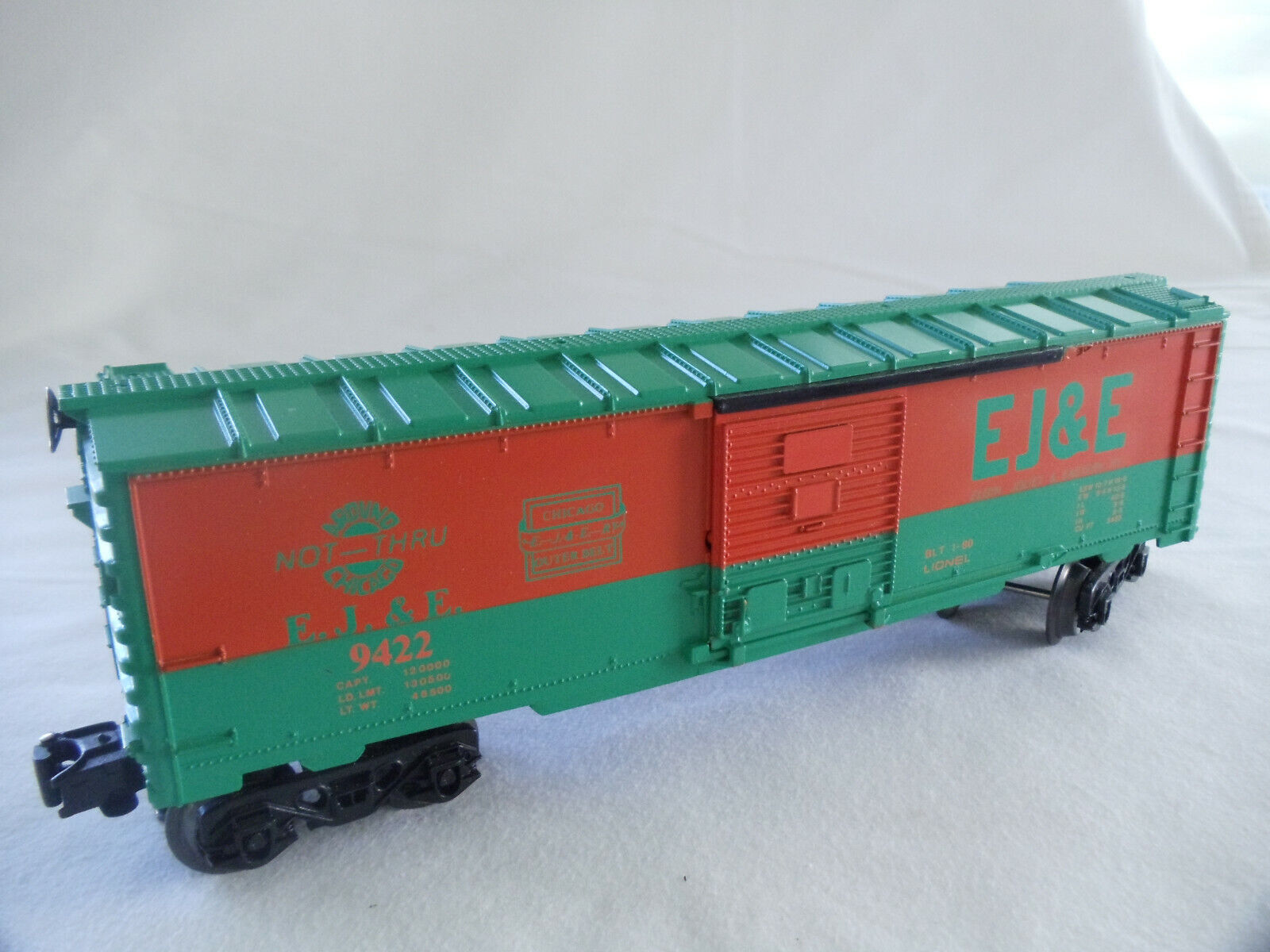 LIONEL-ELGIN,JOILET EASTERN BOXCAR USED NO BOX - $7.50