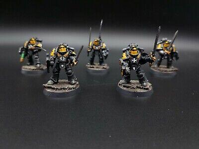 Imperial Fists Legion Templar Brethren Upgrd Forgeworld Energieschwert E