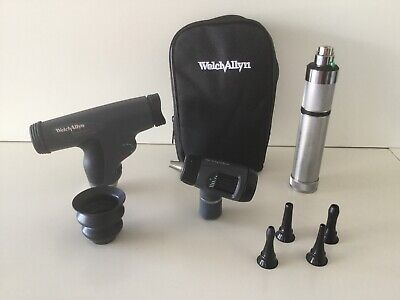 Welch Allyn Diagnostic Set 97150-mpc W Panoptic 11810 Macroview 23810
