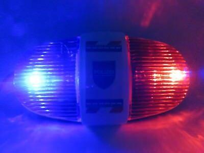 mit Blaulicht und 4 verschiedene Sirene für Kinder Fahrrad (Polizei Spielzeug Für Kinder)