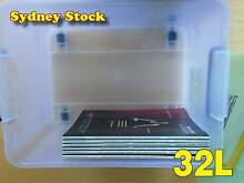 32L Stackable Plastic Storage Boxes/Containers with Lids and Whee Hurstville Hurstville Area Preview