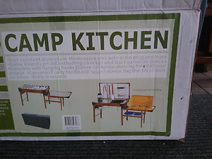 Camp kitchen Woonona Wollongong Area Preview